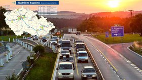 Na 11 dálničních úseků od ledna zadarmo: Kde už nebude potřeba známka?