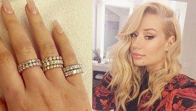 Iggy Azalea dostala 7 diamantových prstenů: Jsme jen kamarádi, brání se