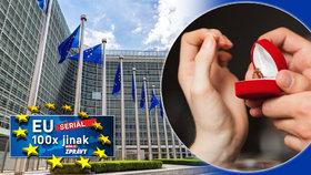 Zoufalí britští euroúředníci: Žádají Češky o ruku, aby si zachránili kariéru
