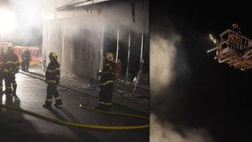 Inferno v Kopřivnici: Plameny zranily čtyři lidi. Škoda je 50 milionů