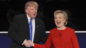 Trump se utká s Clintonovou v poslední debatě. Řešit budou migraci a dluhy