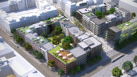 Megalomanský projekt Smíchov City: Začne se stavět zřejmě v roce 2018