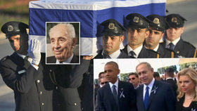 Svět se rozloučil s exprezidentem Peresem. Přijel Obama i Sobotka, Zeman ne