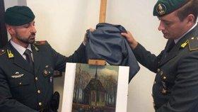 Italská policie našla kradené obrazy Vincenta van Gogha. Měli je mafiáni