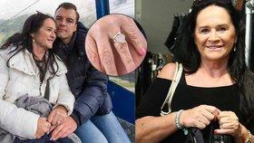 Gregorová sundala zásnubní prsten! Pustila o 32 let mladšího snoubence k vodě?