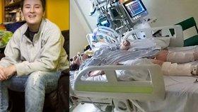 Dívka (22) vstala z mrtvých! Lékaři ji chtěli odpojit od přístrojů, ona zahýbala palcem