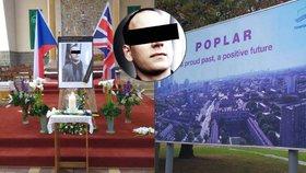 Velvyslanec na pohřbu Čecha v Londýně: Nebyl to útok z nenávisti