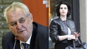 """Kateřina Zemanová má """"vítr"""" z brexitu. Prezidentovi je odporný její obor studia"""