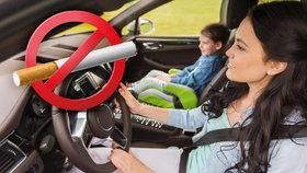 Zapálit si v autě, kde sedí děti? Poslanci plánují zákaz