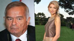 Slavnou dceru uzbeckého diktátora dva roky nikdo neviděl: Je zavřená na psychiatrii!