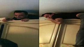 Policie dopadla mafiánského bosse ve skříni. 5 let se skrýval ve vlastním domě