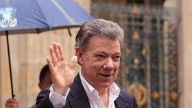 Nobelovu cenu míru získal kolumbijský prezident Santos. Za dohodu s povstalci