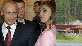 Putinova tajná »dača«: Sem prý jezdí ruský prezident na dovolenou! Bere s sebou i milenku?