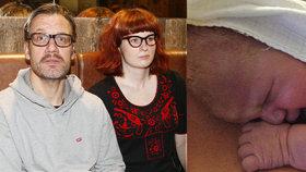 David Matásek má čtvrtého potomka: Jeho mladá zrzka porodila!