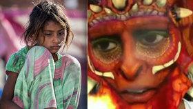 Otřesné: Znásilněné Indky čelí útokům. Má jim pomoci dračí maska