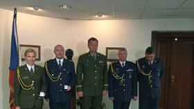 Armáda vyznamenala vojáky: Za záchranu tonoucího nebo za odvrácení katastrofy