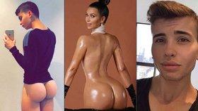 Kim Kardashian má konkurenci! Tenhle mladíček (18) dobývá svým pozadím internet