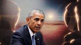 Obama chce dobýt Mars. První mise s lidmi má být kolem roku 2030