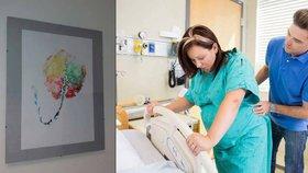 Zarámovaná placenta na památku i další dítě u porodu: Za co si můžete připlatit?