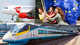 Bezplatná jízdenka na vlak, letadlo i loď. Evropany čeká dárek k osmnáctinám?