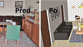 Jak proměnit zastaralý obývák? Dva návrhy, díky kterým skvěle prokoukne