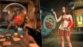 BioShock: The Collection recenze: Kultovní klasika pod vodou i v oblacích
