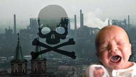 Jedy v ovzduší ničí DNA českých novorozenců! Vědecký průzkum odhalil šokující fakta