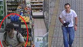 Ukradl tašku s doklady, penězi a platební kartou, pak si zašel nakoupit: Nepoznáte zloděje?
