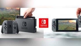 Nintendo odhalilo Switch, jde o hybrid handheldu a stolní konzole