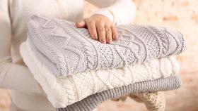 5 triků, jak prát svetry, aby vypadaly pořád jako nové