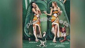 Zfušovaná retuš reklamních fotek: Kam zmizela topmodelkám kolena?