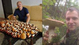Češi hlásí houbové žně: 218 křemenáčů i skoro dvoukilový hřib