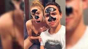 Hvězda seriálu Ulice Anna Kadeřávková si hrála polonahá na Batmana