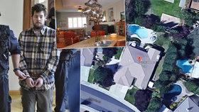 Dahlgrenův život v USA: Vyrůstal v milionářské vile, v noci chodil zabíjet dealery