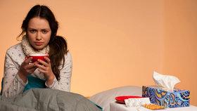 Chřipková epidemie se kvapem blíží. Počet nemocných stále stoupá