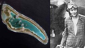 Zemřela 79 let pohřešovaná pilotka jako trosečník? Kostra na odlehlém ostrově by mohla být její