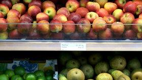 Další polská jablka neprošla testem. Inspekce v nich odhalila nadbytek pesticidů