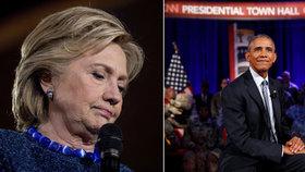 """Clintonová řeší další uniklý e-mail. Obama: """"Je to nafouknuté."""""""