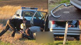 Sebevrah se chtěl udusit v autě: Hrdina Aleš mu zachránil život!