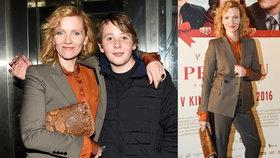 Herečka Aňa Geislerová ukázala syna: Jako by jí z oka vypadl