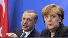 """""""Německo je ráj pro teroristy,"""" obul se do českých sousedů prezident Erdogan"""