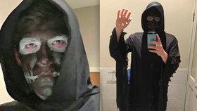 Na Halloween šel za smrtku: Rasismus, obvinili ho kvůli černé tváři