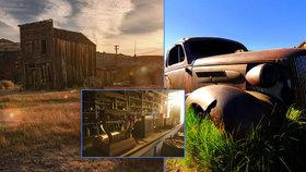 Město duchů na Divokém západě: Vzkvétající město zahubil konec zlaté horečky