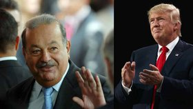 """""""Trump zlikviduje americkou ekonomiku,"""" varoval mexický miliardář"""