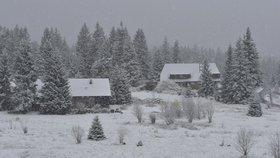 Na české hory se žene chumelenice. Napadne až 40 cm, sledujte radar Blesku