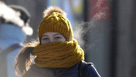 Sníh v nedohlednu, teploty vyšplhají k 5 stupňům a bude jasno