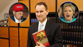 Erik Best o volbách v USA: Nemusí vyhrát Trump ani Clintonová