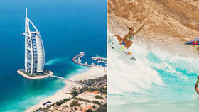 Překrásné pláže, věčné léto a mrakodrapy: 7 důvodů, proč jet do Emirátů!