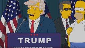 Scénárista odhalil, proč byl Trump prezidentem v Simpsonech už v roce 2000
