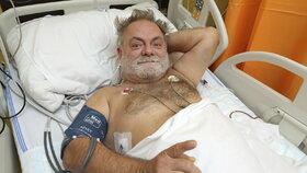 Václav Upír Krejčí v nemocnici: Vážný úraz, krvácení do hrudníku!